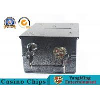 Buy cheap Homestyle Drop Box w/2 Locks & Locking Plate Of Gambling Poker Table To Install from wholesalers