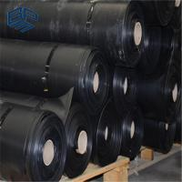 Buy cheap impervious membrane HDPE geomembrane waterproof black sheet for pond liner from wholesalers
