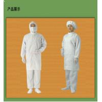 Dust-free Clean Room Garments Antistatic Pocket And Zipper Enclosure Manufactures