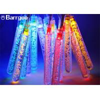 China Fairy Solar Powered Outdoor Icicle Christmas Lights , Solar Powered String Garden Lights 30LED on sale
