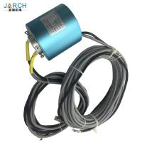 Buy cheap 25.4mm 100M Base T 4 cores through bore Ethernet slip rings design from wholesalers