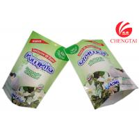 China PET / NY / PE Self Standing Doypack Pouch for Detergent Packaging on sale