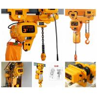 Different Capacity 0.5-20Tons Chain Hoist Electric Chain Hoist for sale