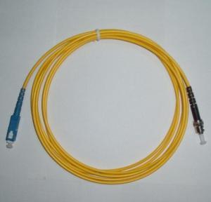 Fiber Optic Patch Cord LC-ST Single Mode Simplex