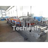 Wholesale Carbon Steel CZ Channel Roll Forming Machine For Thickness 1.5-3.0mm With PLC Touch Screen Control from china suppliers