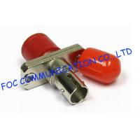 Quality Fiber Optic Couplers FC - ST High Precision Zirconia Ceramic Sleeve Stable For FTTX for sale