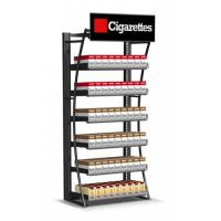 Wholesale Retail Cigarette Display Stand , Smoke Shop Wall Hanging Display Case from china suppliers