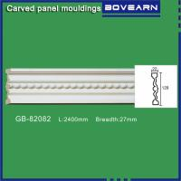 China Polyurethane chair rail moulding white primed color customized OEM accepted on sale