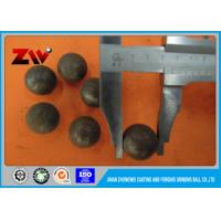 China Chromium steel cast and forged grinding balls for Mineral Processing on sale