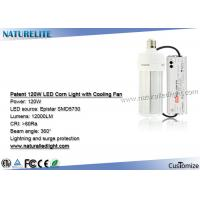 Wholesale 120W LED Corn Light bulb e27with Cooling Fan 7 Lighting Side for Garden Post Lighting from china suppliers