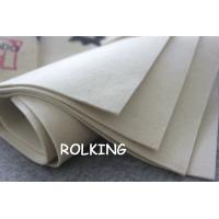 Wholesale 2mm, 3mm , 5mm or 1-100mm Thick Pure 100% White Wool Felt from china suppliers