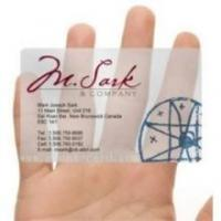 Wholesale transparent business card from china suppliers