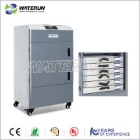 China Grey Portable Fume Extractor 450W HEPA Filter For Purifying Air on sale