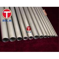 China Feedwater Heater Austenitic Stainless Steel Tubes / Seamless Pipe Length 2 - 12m on sale