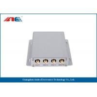 Wholesale ISO15693 Medium Power Square RFID Reader RS232 , Four Channels RFID Antenna Reader from china suppliers