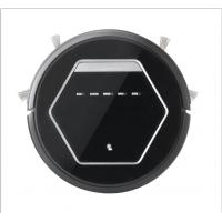Wholesale Black 25W Auto Recharge Multifunction Robotic Vacuum Cleaner Pet Hair , Low Noise from china suppliers