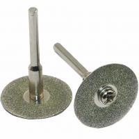 China 20mm Diamond Saw Blades For Stone Cutting Discs Shank Dremel Drill Fit Rotary Tool on sale