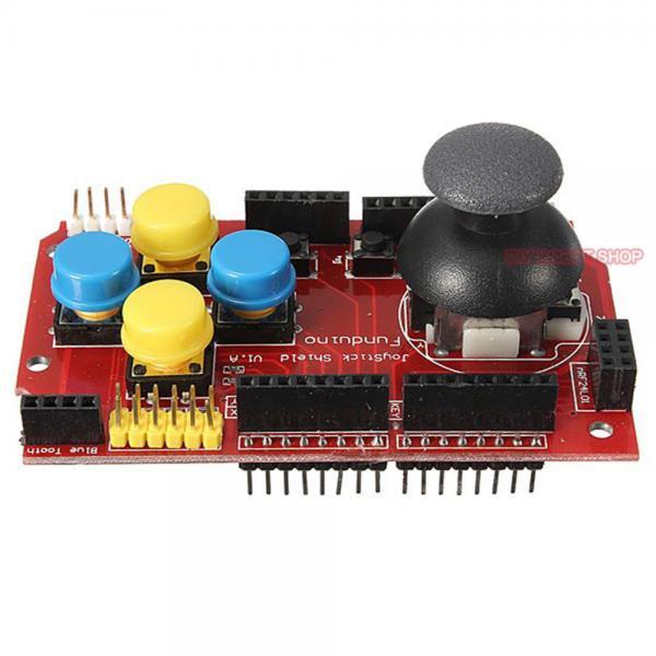 Analog joystick shield for arduino mouse function rocker