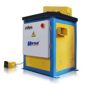 Wholesale HARSLE Heavy duty hydraulic Factory Fixed 90 degree angle notching V machine from china suppliers