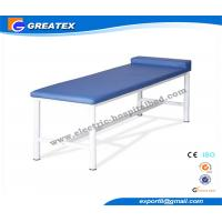 Leather And Stainless Steel Patient Exam Tables Bed