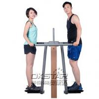 Wholesale outdoor fitness equipment park wood double pendulum from china suppliers