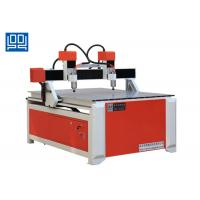 Wholesale Double Spindle Head Advertising CNC Router Equipment With Square Guide Rail from china suppliers