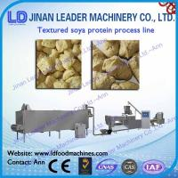 Wholesale Automatic textured tvp tsp soya bean protein food machine equipment from china suppliers