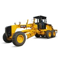 China Articulated Frame Soil Moving Equipment 165hp Road Grader For Road Construction on sale