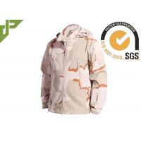 Wholesale 3 Color Desert Men Tactical Military Winter Fleece Hooded Outdoor Jacket For Camouflage from china suppliers