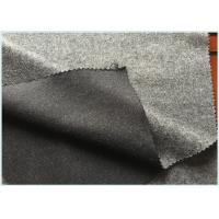 Wholesale Socks / Hats Per Meter Stretch Wool Fabric Customized Gray with 47 Wool 650 G from china suppliers