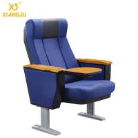 Wholesale Scratch-Resistant PU Molded Foam Auditorium Chairs Foladble Aluminum Feet With Table from china suppliers