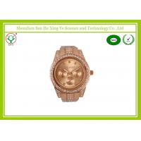 Wholesale Rose Gold Europe Standard Vintage Men Wrist Watches With Diamond For Memento from china suppliers