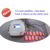 Wholesale Abs Plastic Lipo Laser Machine Body Slimming , Weight Loss Machine 12 Pads Diodes Lipo Laser from china suppliers