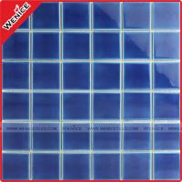 Wholesale China manufacturer dark blue pool mosaic tile from china suppliers