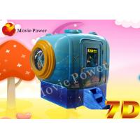 China Mini Mobile Bump Vibration 5D Motion Cinema With Dynamic Seats System on sale
