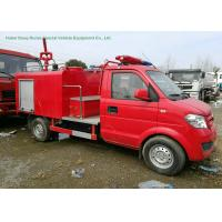 Wholesale Left Hand	Drive Fire Fighting Truck With Gasoline Portable Fire Pump 1CBM Water from china suppliers
