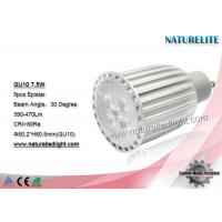 Wholesale GU10 7.5W Led Spotlight Bulbs , Led Spot Ceiling Lights Cool White from china suppliers