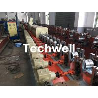 Wholesale Aluminum , Carbon Steel Pu Foam Rolling Shutter Door Making Machine With Servo Tracking Flying-Saw Cutting from china suppliers