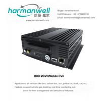 Wholesale New outlook 4ch HD 720P HDD AHD Mobile DVR VEHICLE CCTV from china suppliers
