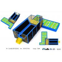 Wholesale 46M2 TUV Certificate Approval Chinese Indoor Trampoline Park/Big Indoor Jumping Bed from china suppliers