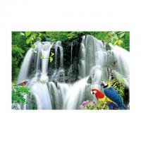 Wholesale Large Size PET 3D Lenticular Printing Poster Of Waterfall Scenery Theme from china suppliers