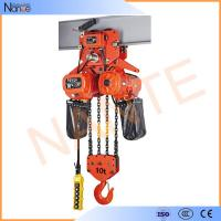 Wholesale High Efficient 25 Ton / 40 Ton Electric Chain Hoist With Motorized Trolley from china suppliers
