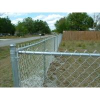 Hot dipped galvanized chain link fence diamond mesh fabric