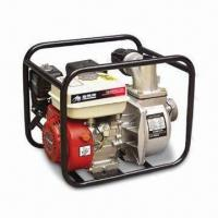 China 3-inch Gas Water Pump with 6.5hp Engine, Recoil Starting System and 30m Total Head on sale