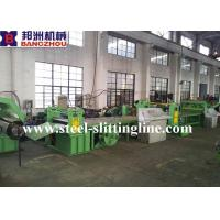 China Carbon Steel / HR/ PPGI Automatic Slitting Machine 3mm x 1250mm With 12MT on sale