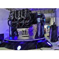Wholesale Dynamic Platform 9D VR Simulator Pendulum Electric Cinema With Three Seats from china suppliers