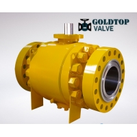 Wholesale DN50 Floating Trunnion Pneumatic Actuator Ball Valve from china suppliers