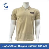 Security police polo shirts custom printed work shirts for Embroidered police polo shirts