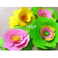 Buy cheap Orange pink grass green white 1mm 10cm x10 cm origami roses Sponge Eva plastic DIY manual paper paper kindergarten product