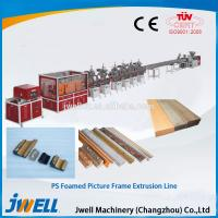 Wholesale Jwell PS foamed picture frame extrusion line from china suppliers